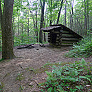 Cable Gap Shelter by Tripod in North Carolina & Tennessee Shelters