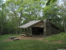 Spence Field Shelter by Tripod in North Carolina & Tennessee Shelters