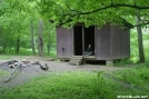Apple House Shelter by Tripod in North Carolina & Tennessee Shelters
