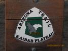 Arizona Trail: Kaibab Plateau Squirrel