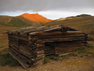 Old Mining Cabin (cdt), San Juan Mts. by K.B. in Continental Divide Trail