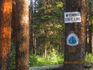 Wyoming/colorado State Line (cdt) by K.B. in Continental Divide Trail