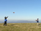 Playing Football On Max Patch Summit. by maxpatch67 in Members gallery