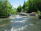 2009-0510c Nantahala River by Highway Man in Views in North Carolina & Tennessee