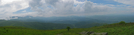 2009-0528e Roan Mt Pano Looking From Hump Mt by Highway Man in Trail & Blazes in North Carolina & Tennessee