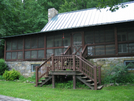 2009-0705f Blackburn Trail Center by Highway Man in Virginia & West Virginia Shelters