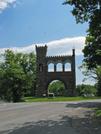 2009-0707b War Memorial by Highway Man in Views in Maryland & Pennsylvania
