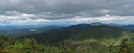 2009-0915h Goose Eye Mt Pano by Highway Man in Trail & Blazes in Maine