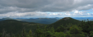 2009-0915j Goose Eye Mt North Pano by Highway Man in Trail & Blazes in Maine