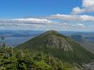 2009-0924k Bigelow Mt Avery Peak Looking From South by Highway Man in Views in Maine