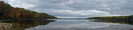 2009-1002b Lower Jo-mary Lake Pano by Highway Man in Trail & Blazes in Maine