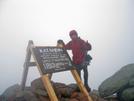 2009-1006b Highway Man At Mt Katahdin by Highway Man in Thru - Hikers