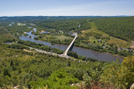 2007-08a3-lehigh Water Gap, PA by Highway Man in Views in Maryland & Pennsylvania