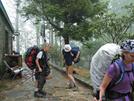 2009-0503a Firefly, Slacka$$ & Zen Dawg At Neels Gap by Highway Man in Thru - Hikers