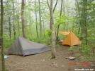 Campsite in GA.