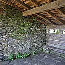Rocky Knob Shelter by Frog in Trail & Blazes in Virginia & West Virginia