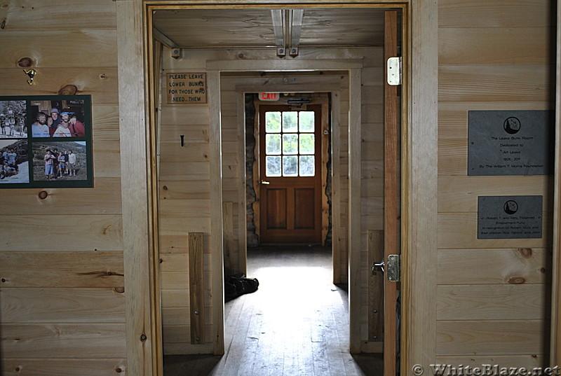 Inside Madison Hut