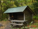 Old Orchard Shelter by Frog in Virginia & West Virginia Shelters