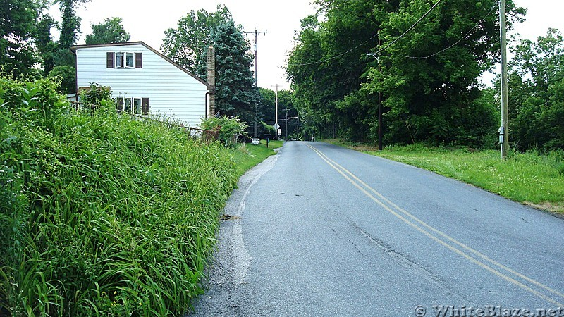 A.T. Junction With Mountain Road, Boiling Springs, PA, 06/14/13