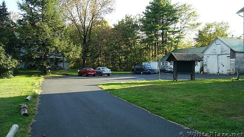 Parking Area At Scott Farm, Cumberland Valley, PA, 09/27/13