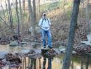 Hooligan At Little Antietam Creek, Md, 11/07/09