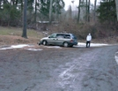 Parking Area At Old Forge Park, Pa, 01/16/10 by Irish Eddy in Views in Maryland & Pennsylvania
