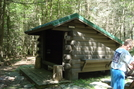 Tumbling Run Shelters, P A, 05/30/10 by Irish Eddy in Views in Maryland & Pennsylvania