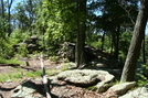 Access Trail To Chimney Rocks, Buzzard Peak, P A, 05/30/10 by Irish Eddy in Views in Maryland & Pennsylvania