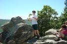 Memorial Dar Remembrance On Chimney Rocks, Buzzard Peak, P A, 05/30/10 by Irish Eddy in Views in Maryland & Pennsylvania