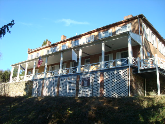 Ironmaster's Mansion At Pine Grove State Park, PA, 11/25/11