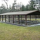 Furnace Pavilion At Pine Grove Furnace State Park, PA, 12/30/11