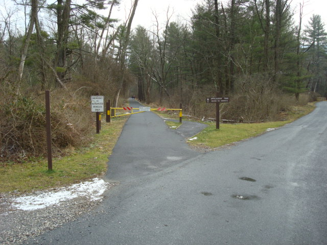A.T. Junction With Cumberland County Biker/Hiker Trail, PA, 12/30/1