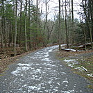 A.T. Junction With Old Railroad Bed Road, PA, 12/30/11 by Irish Eddy in Views in Maryland & Pennsylvania