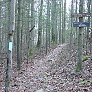 Trail Markers For James Fry Shelter, PA, 12/30/11 by Irish Eddy in Views in Maryland & Pennsylvania