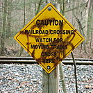 A.T. Marker At Reading Railroad Crossing, PA, 12/30/11 by Irish Eddy in Views in Maryland & Pennsylvania