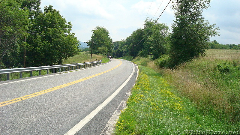 Valley Road, PA Rte. 850 Crossing, PA, June 2015