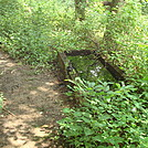 Water Triough Near Little Mountain, PA, June 2015