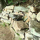 Stone Bench on Blue Mountain, PA, June 2015