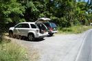 A. T. Parking Area At Mont Alto Rd., P A Rte. 233, P A, 07/03/10