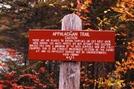 100 Mile Wilderness Sign