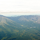 Baxter Peak from above the Helon Taylor trail.