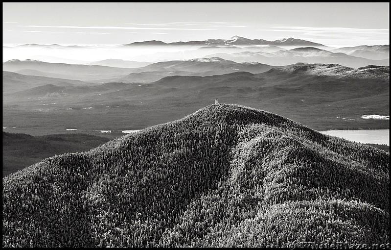 Mt Washington from Weld, Maine.