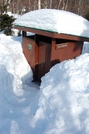 Steps Down To Outhouse. by Funkmeister in Katahdin Gallery