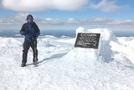 Funkmeister Near Baxter Peak Sign
