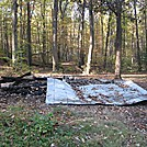 Toms Run burned Shelter - 18 Oct 13 by JYD in Maryland & Pennsylvania Shelters