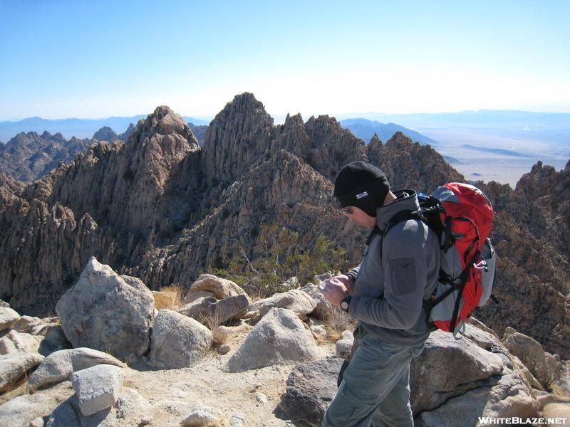 David Signing Register, Aqua/tensor, Coxcomb Mountains