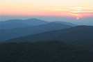 Sunset from Rocky Top by Tn Bandit in Trail & Blazes in North Carolina & Tennessee