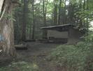 Moreland Gap Shelter by JJJ in Trail & Blazes in North Carolina & Tennessee