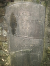 Uncle Nick Grindstaff's Headstone by JJJ in Trail & Blazes in North Carolina & Tennessee