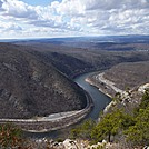 View Of Delaware Wap Gap from Mount Tammany (1,549 feet) in New Jersey by ga2me9603 in Special Points of Interest